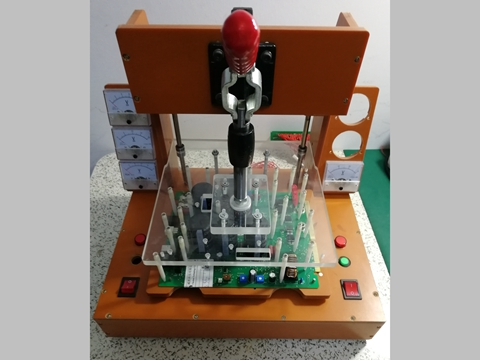 PCBA test fixture production point analysis