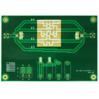 Ceramic PCBs Made of RO4000 Series High Frequency Circuit Materials