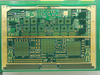 16 layer hybrid PCB made by Isola material, will blind via and back drill
