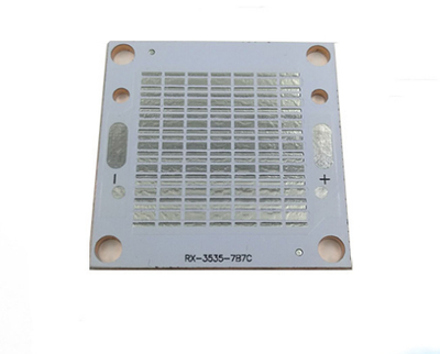 2 layer Aluminum PCBs with aluminum material in the middle for LED lights