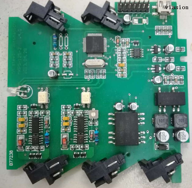 PCB Assembly for house access control panel
