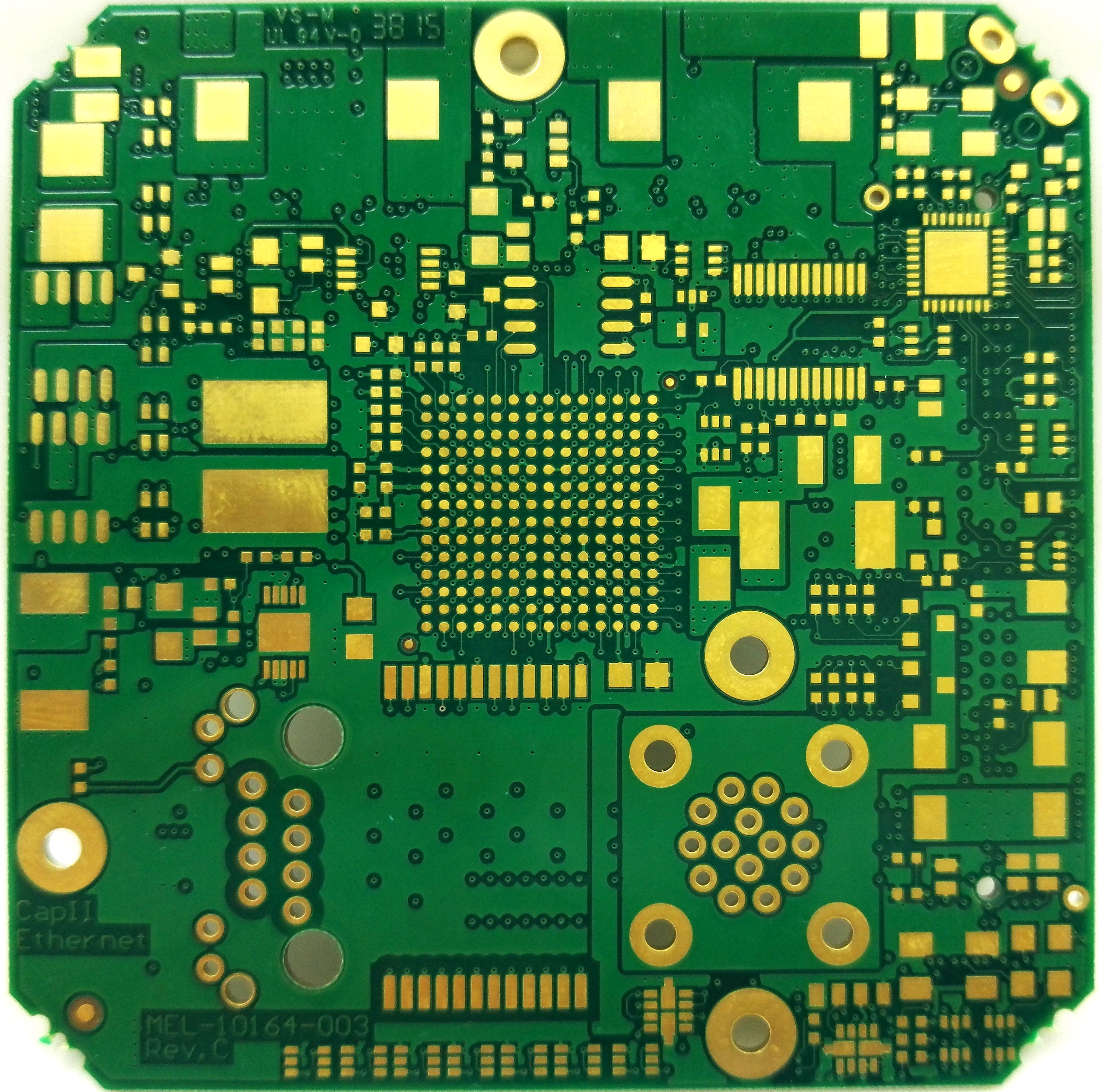 Analyze the role of matching resistors in PCB board design